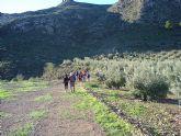 El Club Senderista de Totana sobre la Sierra de las Moreras - 1