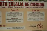 La Fundación La Santa pretende implicar a las asociaciones del municipio en el Novenario en honor a Santa Eulalia con motivo de sus fiestas patronales - 2