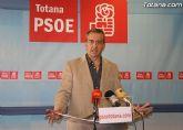 Los socialistas de Totana organizan una cena para presentar la nueva dirección del partido