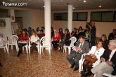 """El alcalde de Totana es homenajeado por su labor como voluntario en la clausura del """"IX Encuentro de Voluntariado Totanero"""" - 2"""