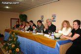 """El alcalde de Totana es homenajeado por su labor como voluntario en la clausura del """"IX Encuentro de Voluntariado Totanero"""" - 13"""