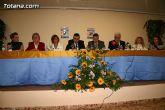 """El alcalde de Totana es homenajeado por su labor como voluntario en la clausura del """"IX Encuentro de Voluntariado Totanero"""" - 17"""
