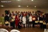 """El alcalde de Totana es homenajeado por su labor como voluntario en la clausura del """"IX Encuentro de Voluntariado Totanero"""" - 31"""