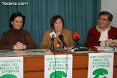 Rueda de prensa de Amigos del Teléfono de la Esperanza en Totana