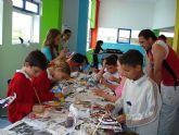 """Más de medio centenar de niños y jóvenes participan diariamente en las actividades organizadas en la """"Eduteca puzzle"""""""