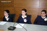 """Alumnos de varios centros educativos alzan su voz y proclaman sus derechos en el Salón de Plenos del ayuntamiento con motivo de la celebración del """"Día Internacional de los Derechos del Niño"""" - 13"""