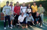 El Club de Tenis Totana, campeón regional de tenis por equipos absoluto de 2ª división