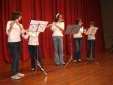 """Los alumnos de la Academia de Música deleitaron al numeroso público que se congregó en el Centro Sociocultural """"La Cárcel"""" con el Concierto de Grupos de Cámara y Solistas - 1"""