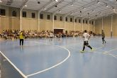 Los jóvenes mazarroneros disfrutan del inicio de la liga local de fútbol sala