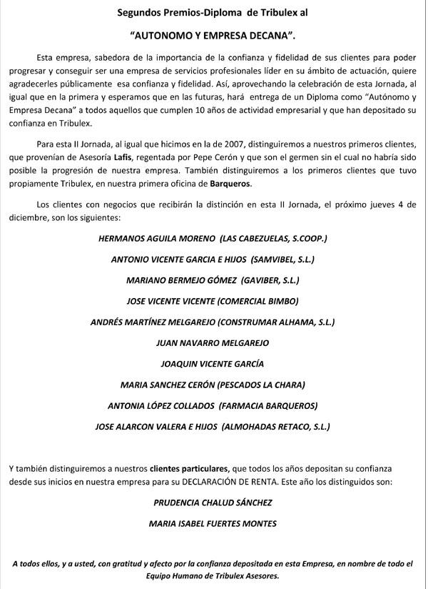 II Jornadas Tribulex del Autónomo y de la Empresa, Foto 3