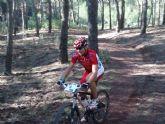 Juan Antonio Canovas García del club ciclista Santa Eulalia, 5º en Vélez Blanco