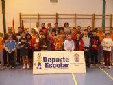 """Un total de 84 escolares participan en el torneo escolar de b�dminton, enmarcado en el programa """"Haz deporte, haz salud"""" - 10"""