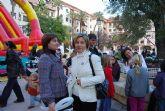 """Gran participaci�n en la """"Fiesta infantil por la igualdad"""" organizada dentro de la programaci�n del d�a internacional para la eliminaci�n de la violencia contra las mujeres"""