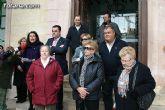 """Totana condena la violencia de g�nero con la concentraci�n silenciosa """"Mi�rcoles Blanco"""" - 1"""