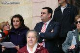 """Totana condena la violencia de g�nero con la concentraci�n silenciosa """"Mi�rcoles Blanco"""" - 2"""