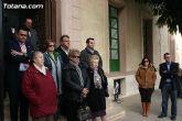 """Totana condena la violencia de g�nero con la concentraci�n silenciosa """"Mi�rcoles Blanco"""" - 4"""