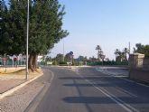 Un total de once kilómetros del tramo de carretera MU-502 comprendido entre la glorieta de El Rulo y Aledo han sido asfaltados