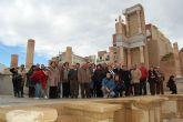 Un centenar de ciudadanos se desplazaron a la ciudad de Cartagena por motivo del viaje cultural organizado por el Ayuntamiento