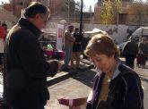 UPyD de Totana instaló una mesa informativa sobre el Sahara