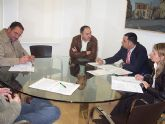 Los miembros de la junta de portavoces se reúnen para consensuar los proyectos de obras del fondo estatal de inversión local