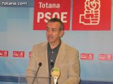 Otálora insta al alcalde para que tome medidas urgentes que resuelvan la crisis en Totana