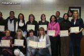 "El ""Taller de lengua de signos""  se clausura con la entrega de diplomas a m�s de treinta participantes - 36"