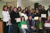 "El ""Taller de lengua de signos""  se clausura con la entrega de diplomas a m�s de treinta participantes - 38"