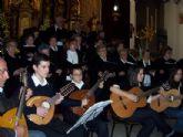 """El concierto de Navidad """"Ciudad de Totana"""" tendrá lugar el martes día 23 a las ocho de la tarde en la iglesia de Santiago"""