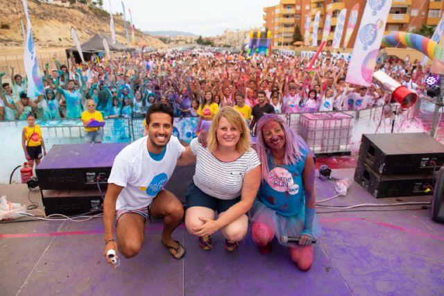 Más de 1.800 personas disfrutan con la Spume Run en Puerto de Mazarrón, Foto 1
