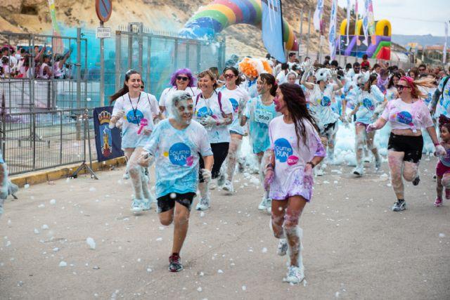 Más de 1.800 personas disfrutan con la Spume Run en Puerto de Mazarrón, Foto 3