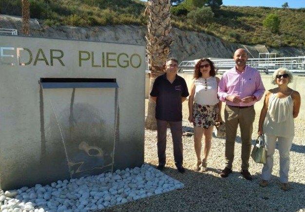 Los agricultores de Pliego reutilizarán el agua tratada con un sistema terciario en la depuradora del municipio - 1, Foto 1