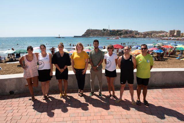 Mazarrón habilita el primer canal de nado en aguas abiertas de la Región de Murcia, Foto 1