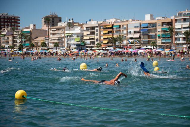 Mazarrón habilita el primer canal de nado en aguas abiertas de la Región de Murcia, Foto 3
