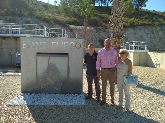 Las inversiones en la depuradora de Pliego ya permiten dotar el tratamiento terciario para mejorar el agua para riego - 1, Foto 1