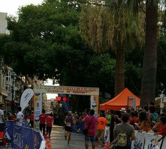 Raúl Cifuentes, Atleta del CAT, vence en la Carrera Internacional Alcaldesa de Águilas, Foto 2