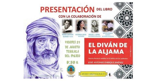 """José Antonio Enrique Jiménez presenta mañana viernes su libro, """"El diván de la aljama"""", en las Noches del Museo - 1, Foto 1"""