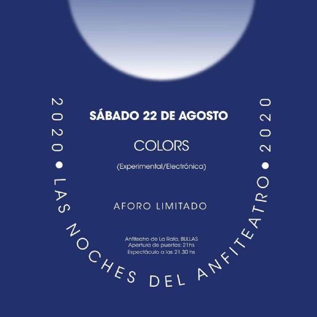 El proyecto musical 'Colors' último concierto de 'Las noches del anfiteatro' - 1, Foto 1