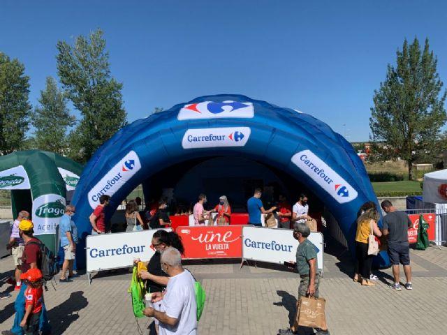 Carrefour celebra con los murcianos la llegada de La Vuelta 2021 - 1, Foto 1