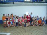 Finalizan los cursos de natación del último trimestre del año 2008 en la piscina municipal cubierta