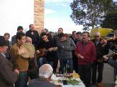 Celebran una misa en la Ermita de Santo Domingo del Raiguero Alto