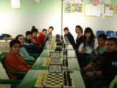 Cristina García Albiol, primera clasificada en la fase de ajedrez