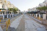 La calle Sierra de las Moreras de Ordenación Bahía estrena su imagen