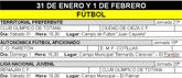 Agenda deportiva fin de semana 31 de enero y 1 de febrero