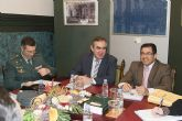 El delegado del Gobierno presenta proyectos por valor de 5,7 millones de euros autorizados por el Gobierno de España para Mazarrón