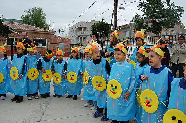 ALGUAZAS / Más de 480 niños del Monte Anaor celebran el Carnaval