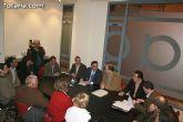 Reunión de la ejecutiva de CEGAB con el Delegado del Gobierno en Murcia
