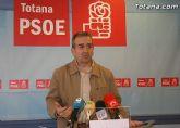 El PSOE de Totana promueve iniciativas para que el Gobierno de España contribuya a resolver la deuda de los ayuntamientos con los proveedores