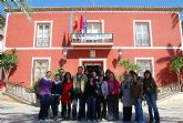 Los alumnos del Ciclo Medio de Gesti�n Administrativa del I.E.S. Miguel Hern�ndez visitan el Consistorio