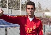Alcalá convocado por la Selección Española de Fútbol Sub-20