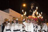 Puerto de Mazarrón despide la Semana Santa 2009 con la procesión del Santo Entierro